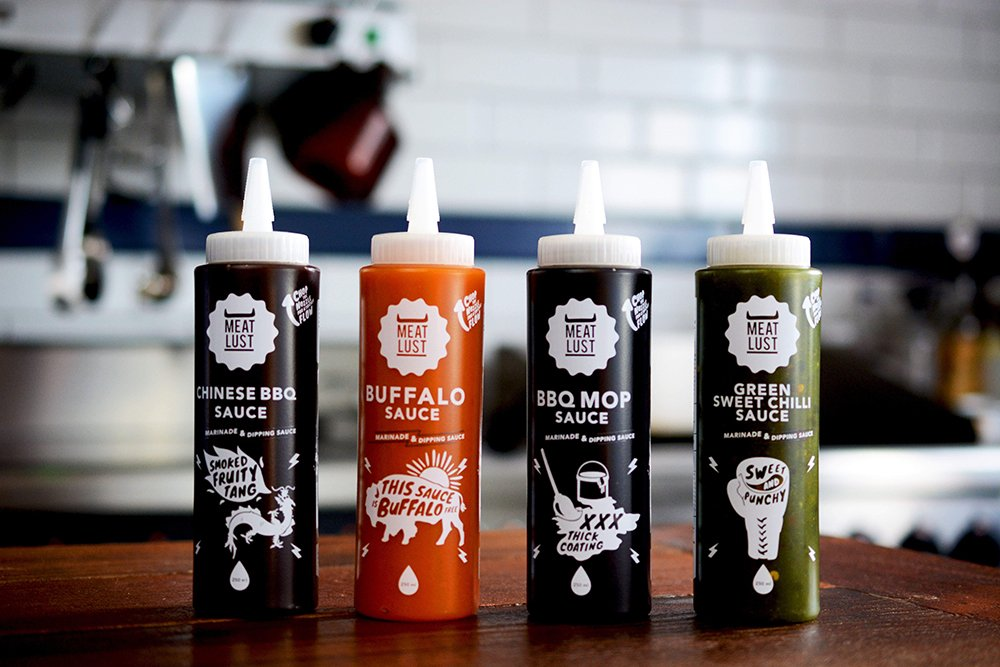 New! Meat Lust Marinades & Sauces